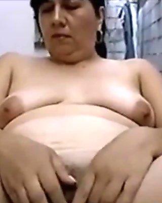 Outdoor solo Hispanic amateur Mom Lucia