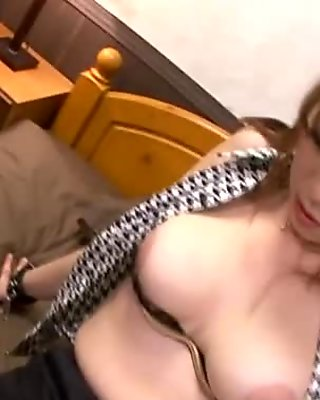 Mature MILF honey in black stockings needs to ride a dick