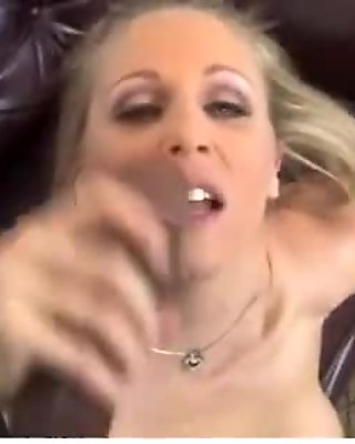 Busty blonde milf get fucked by black dong 4